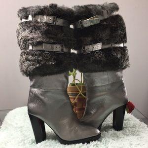 Michael Kors Faux Fur Boots